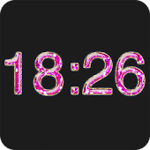 Digital Clock Diamond