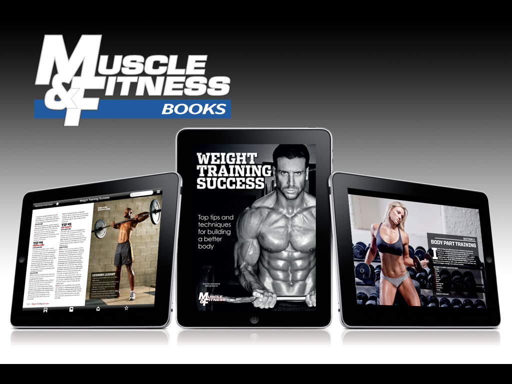 MUSCLE AND FITNESS BOOKS - screenshot