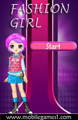 Teen Fashion Girl Dressup game