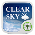 Clear Sky GO Locker Theme icon