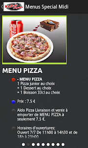Aldo Pizza screenshot 2
