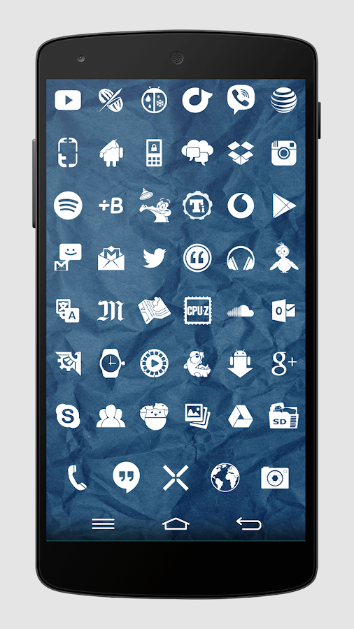 Whicons - White Icon Pack - screenshot