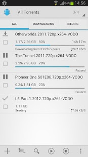 aTorrent - Torrent Downloader - screenshot thumbnail