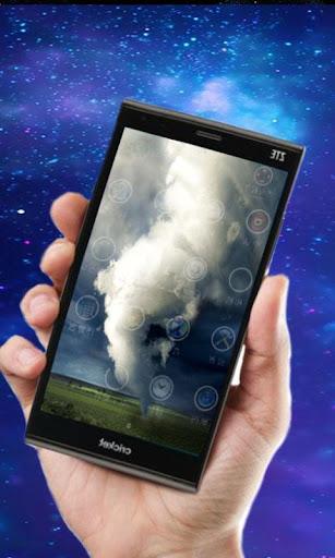 Торнадо - живые обои для планшетов на Android