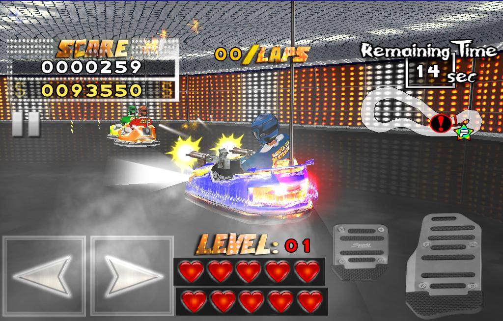Bumper Car Destruction - screenshot