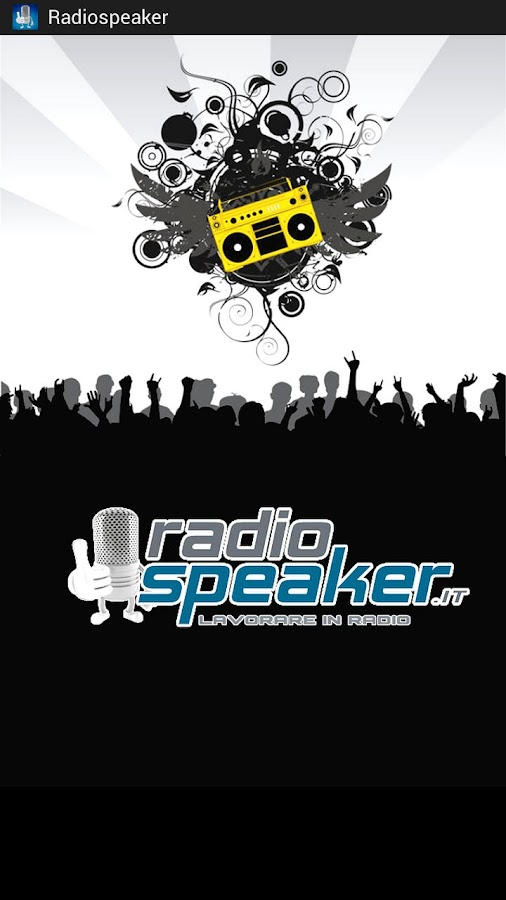 Radio Speaker - screenshot