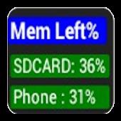 Phone Memory Widget