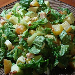 Winter Cobb Chopped Salad.