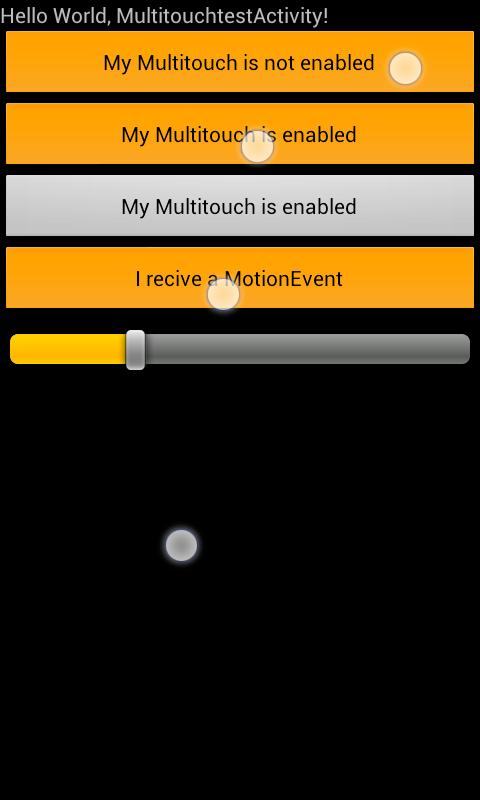Multitouch for all Views- screenshot