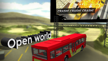 Screenshot of City Bus Driver Sim 3D