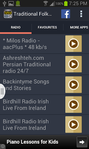 Traditional Folk Radio