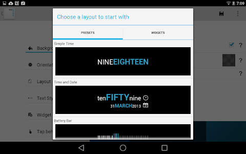 Minimalistic Text: Widgets v4.1