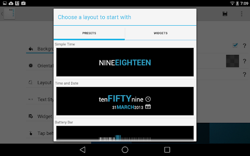 Minimalistic Text: Widgets Screenshot 10