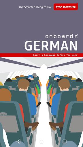 Onboard German Phrasebook