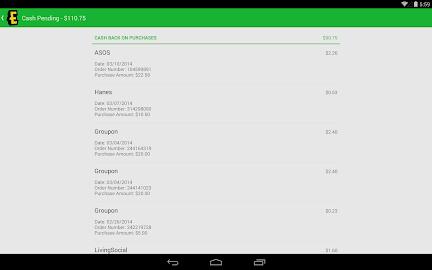 Ebates Cash Back & Coupons Screenshot 27