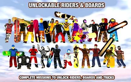 Crazy Snowboard Screenshot 12