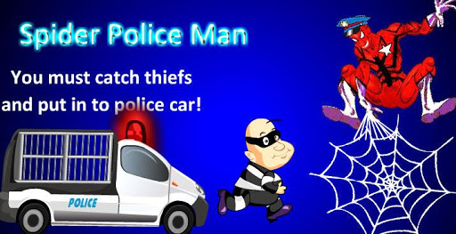 Spider Police Man Game