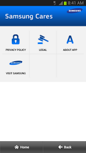 Samsung Cares- screenshot thumbnail