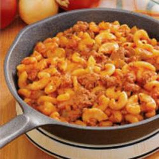 Hamburger Mac Skillet