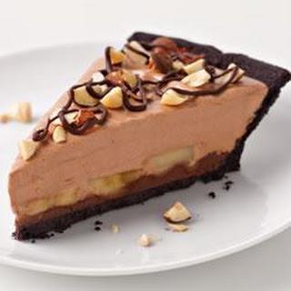 Chocolate-Hazelnut-Banana Pie