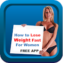How to lose weight fast women icon