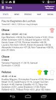 Screenshot of CyclingNews Tour Tracker