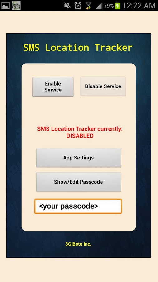 SMS Location Tracker - Android Apps on Google Play