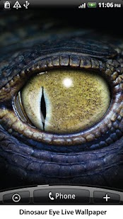 Dinosaur Eye Live Wallpaper - screenshot thumbnail