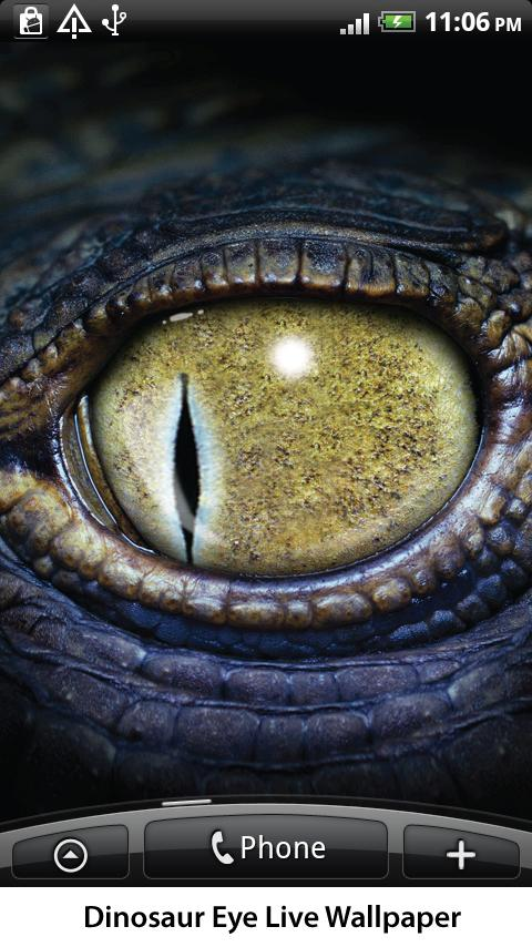 Dinosaur Eye Live Wallpaper - screenshot