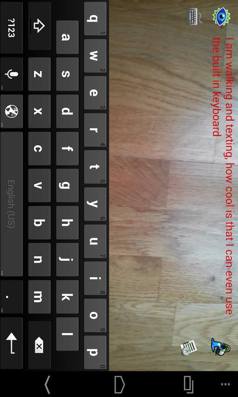 Walk and Text ( Type n Walk )- screenshot