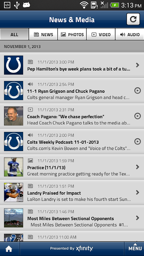 Indianapolis Colts Mobile - screenshot