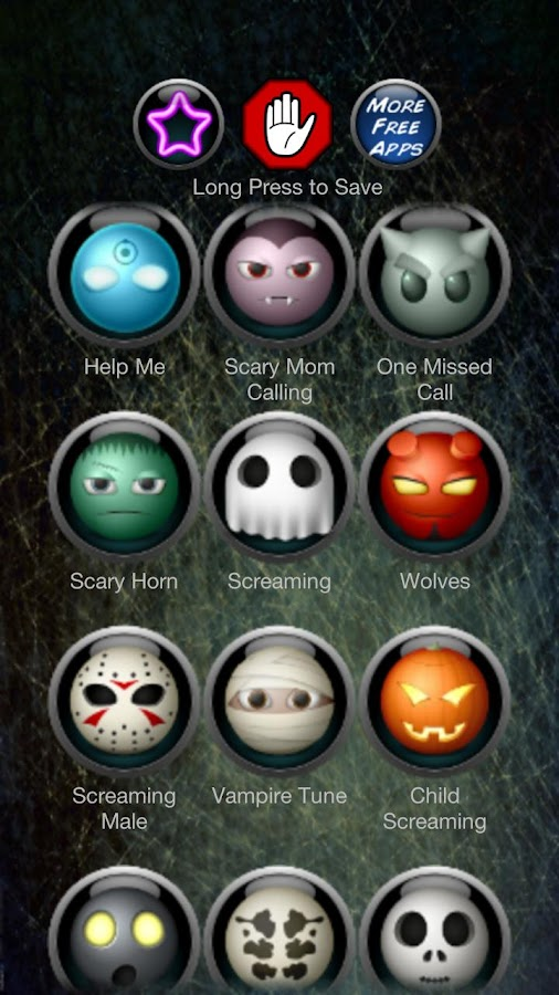 Scary Ringtones - screenshot
