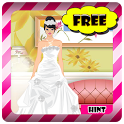 Bride Girl Dress Up icon
