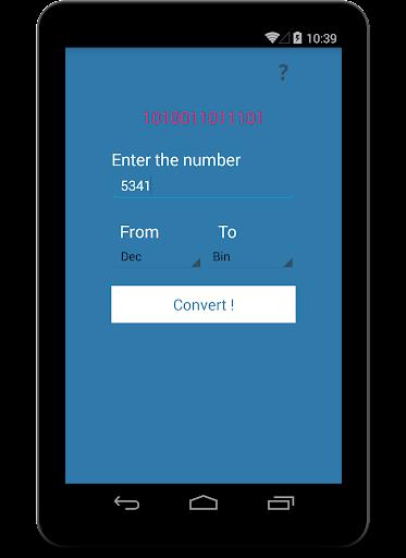 【免費教育App】Binary Converter PRO V1.0-APP點子