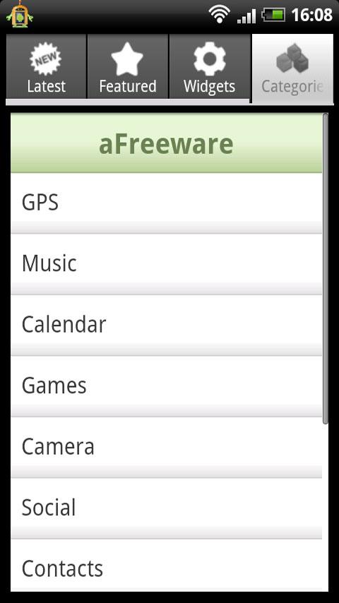 aFreeware - screenshot