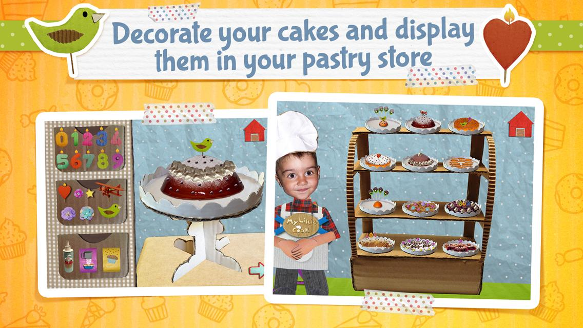 My Little Cook - Cakes- screenshot