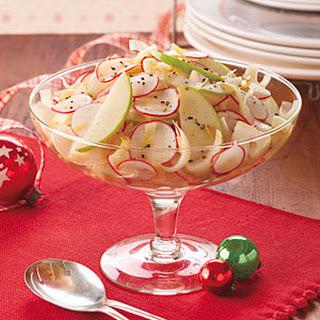 Endive, Radish and Green Apple Salad