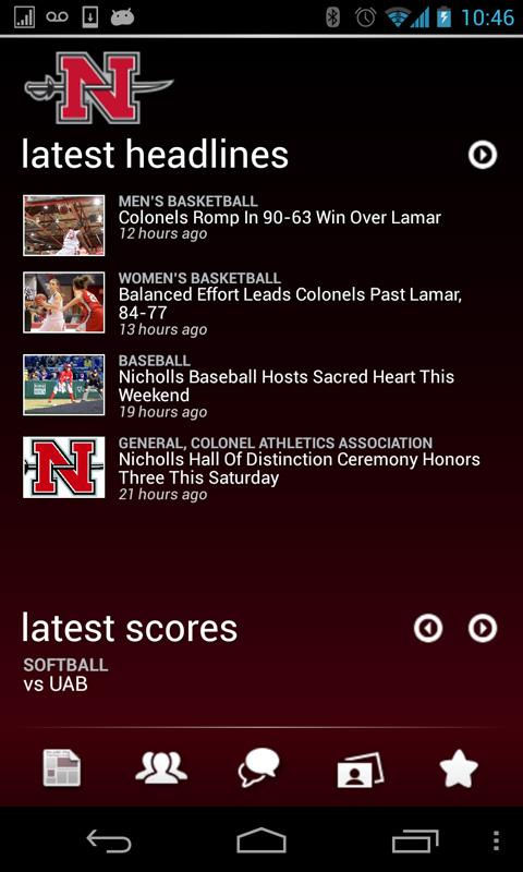 Nicholls Colonels - screenshot