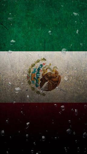 Mexico flag water effect LWP