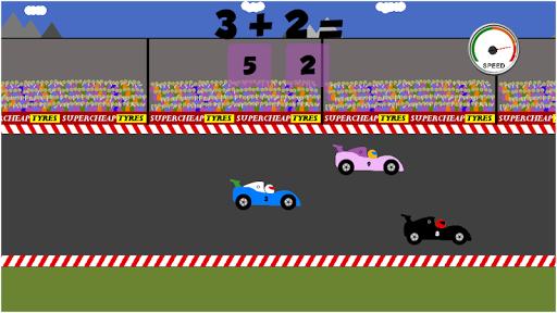 Math Car Racing game for Kids