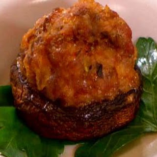 Pork and Pancetta Stuffed Mushrooms Recipe
