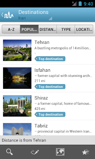Iran Travel Guide by Triposo