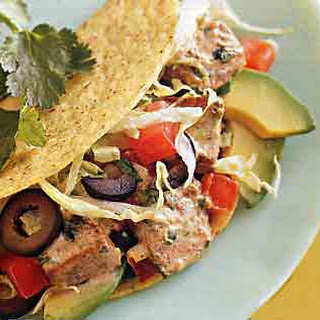 Fresh Tuna Tacos.