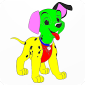 Paw Puppy Coloring Book