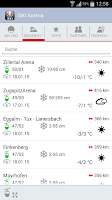 Screenshot of iSKI Austria