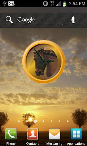 Horse Head Clock