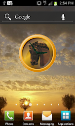 Horse Head Clock APK screenshot thumbnail 1