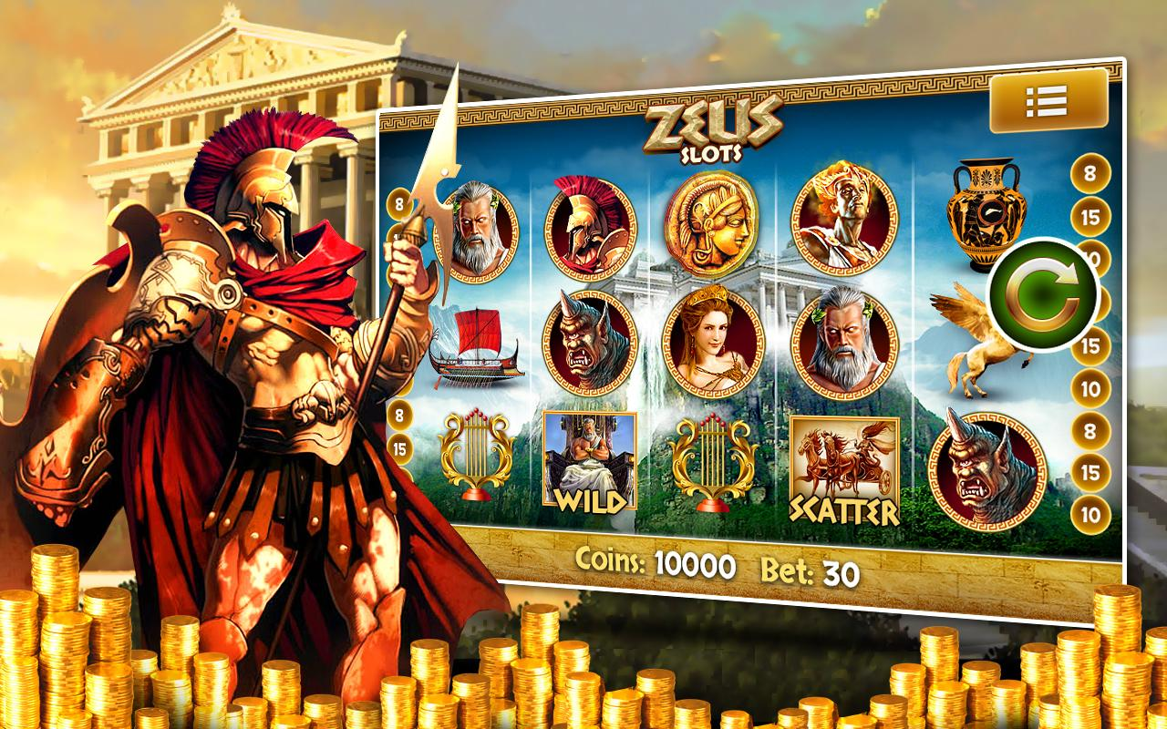 Zeus Free Slot Machine Pokies - screenshot