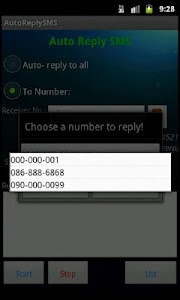 Auto Reply SMS screenshot 4