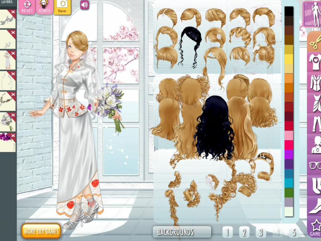 Wedding Lily - Dress Up Game - screenshot